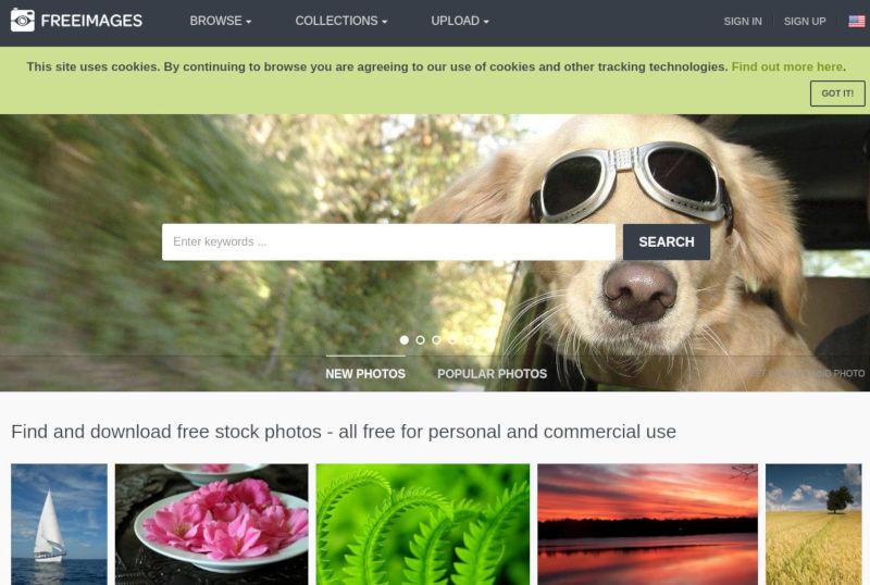 freeimages stock foto's schermafbeelding