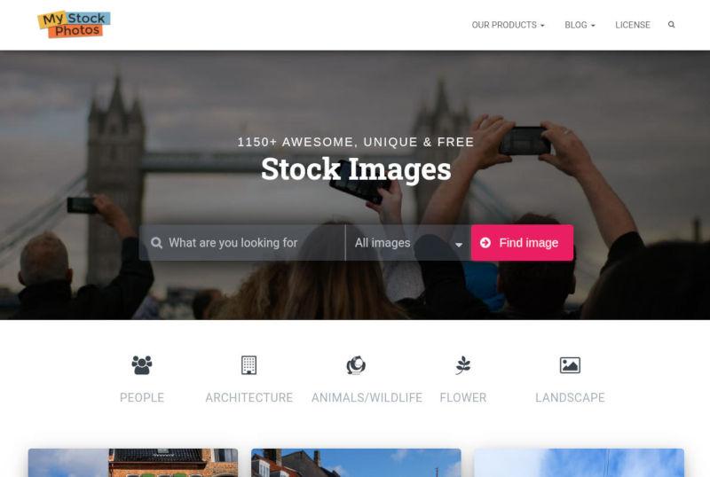 my stock photos gratis stock foto's schermafbeelding