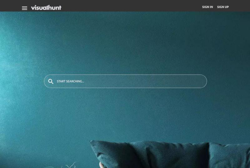 visualhunt stock foto's schermafbeelding